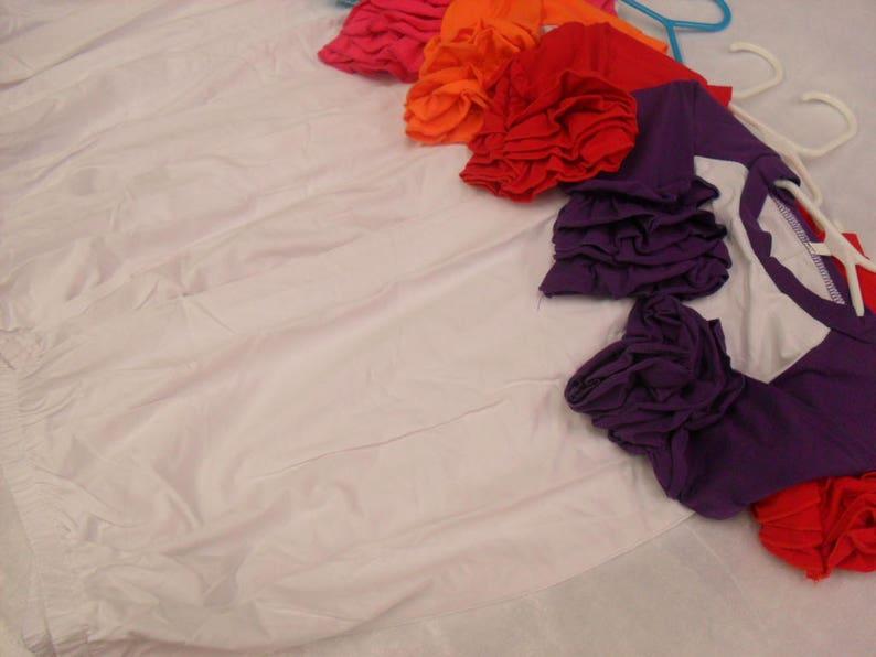 Ruffle Raglan Gown In Stock Ready To Ship Blank Wholesale Icing Ruffle Gown  Raglan Shirt Raglan Baseball Shirt Ruffle Top SHIPS IN 1-2 Days