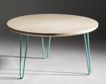 Round Hairpin Coffee Table