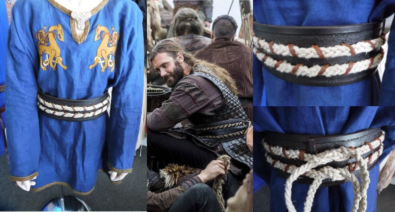 c9b2c460 Viking Leather Belt - Inspired by Rollo from the History Channel Show - The  VIkings