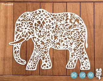 Original Svg Png Paper Vinyl Cut Templates By Foxsister On Etsy