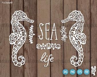 Mermaids & Sea svg