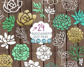 24 Cactus Svg Bundle, Succulents Svg, plants svg Papercut Templates | Nature Svg | Cactus Decal | Clipart  | Plant | Cut file | for Cricut