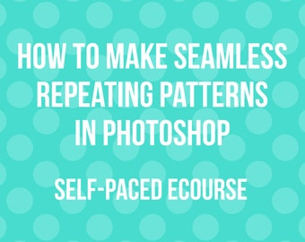 How to make seamless repeating patterns in photoshop AllAboutTheHouse video tutorials beginner polka dot stripe how to make paper overlays