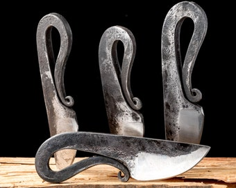 GRIM small forged VIKING neck KNIFE Vikings Norse Historical Medieval Middle Ages Pagan Re-enactment Neck Replica Swedish Iceland Wiking Sca