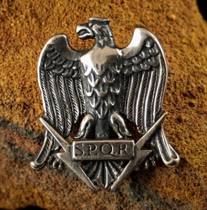 Pendant Aquila Eagle Standard of a Roman Legion Keychain Trinket