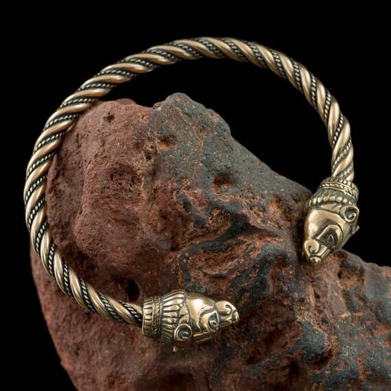Berserker Bär Bronze Armband Wikinger Schmuck Etsy
