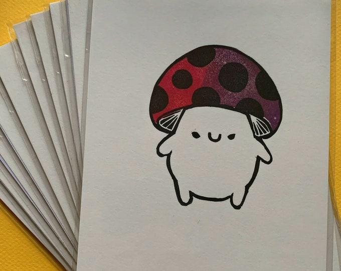 Limited Edition Mushroom Print - June