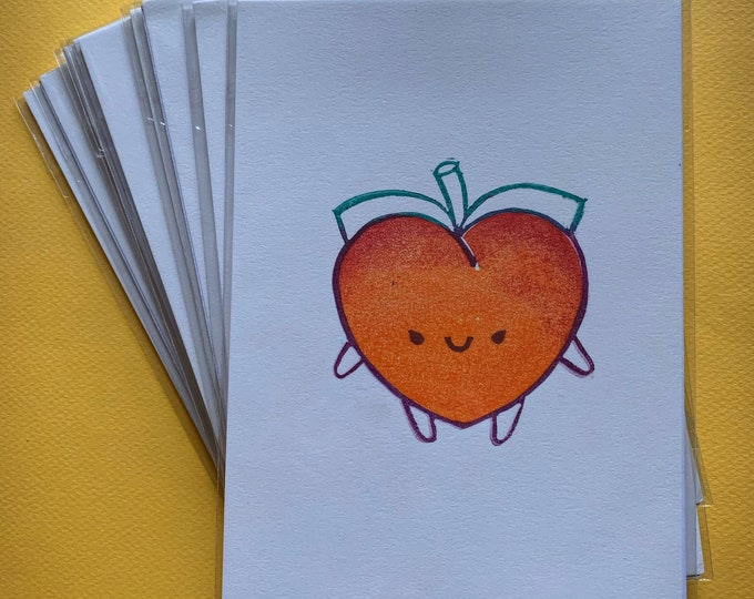 Limited Edition Peach Print - July