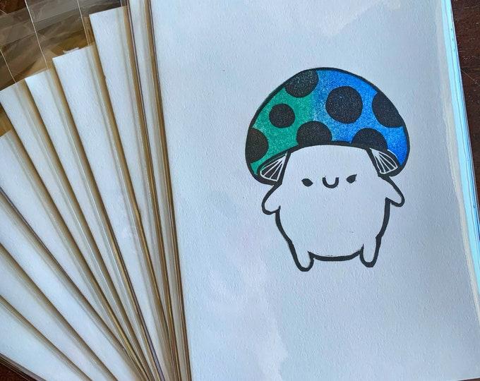 Limited Edition Mushroom Print - May