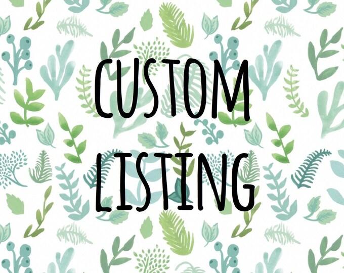 Custom Listing for Cyrus