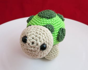 Turtle, Amigurumi Turtle, Turtle toy, Handmade amigurumi crochet, stuffed turtle, stuffed animal