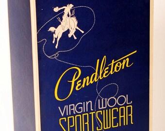 Vintage Pendleton Box