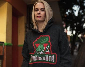 Hockey Hoodie Muddy River Cup Minnesota Hockey Team Player Goalie Pro Hockey Unisex Heavy Blend Hooded Sweatshirt