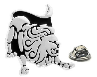 Leo Zodiac Enamel Pin Astrology Gifts, Lapel Pin