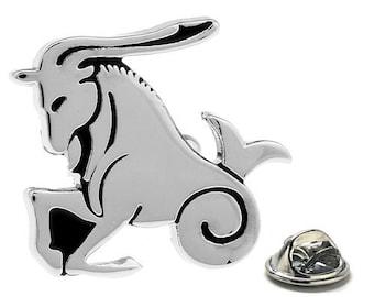 Capricorn Zodiac Enamel Pin Astrology Gifts, Lapel Pin