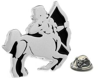 Sagittarius Zodiac Enamel Pin Astrology Gifts, Lapel Pin