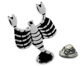 Scorpio Zodiac Enamel Pin Astrology Gifts, Lapel Pin
