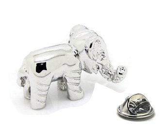 Safari Elephant Lapel Pin, African Safari Enamel Pin