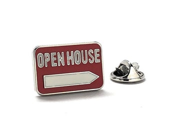 Realtor Open House Pin Realty Lapel Pin