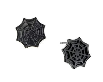 Earrings Spider Wed Spider Stud Post Earrings superhero Collection Jewelry