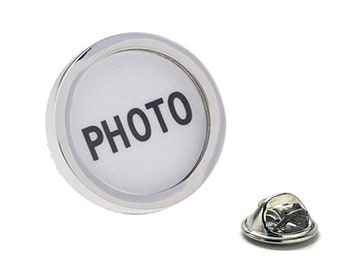 Add Any Picture Enamel Pin, Custom Lapel Pin