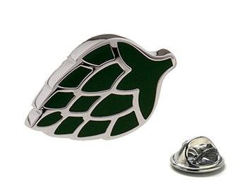 Artichoke Enamel Pin, Green Lapel Pin