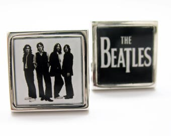 Cufflinks The Boys 1969 Last Photo of the Beatles Greatest Best-Selling Rock Band in History Comes with a Gift Box
