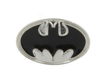 Enamel Pin Super Bat Hero Lapel Pin Tie Tack Show Off Your Hero Keepsakes Cool Fun Collector Pin Comes with Gift Box