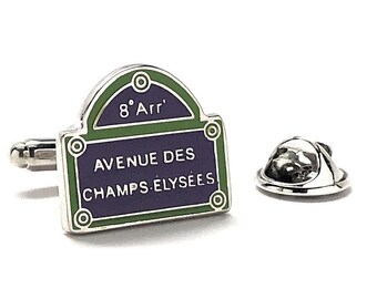 Paris France sign pin