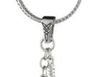 Necklace Thor's Hammer Dangle Crystal Hammer Superhero Hero Necklace vintage jewelry