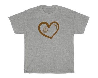 Coffee Love Tee Shirt Hot Tea Drink T Shirt Unisex Heavy Cotton Tee Hot Chocolate T Shirt