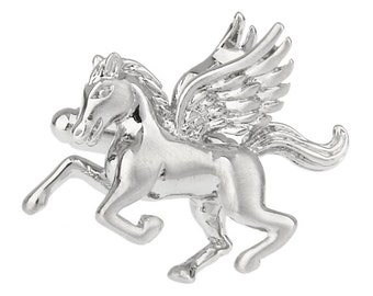 Pegasus Winged Horse Stallion Mythology Cufflinks Cuff Links