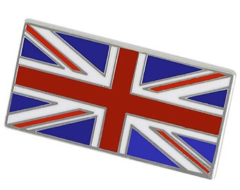 United Kingdom UK Union Jack British Flag Bulk Enamel Pins Souvenir Hand Painted lapel pin Cool
