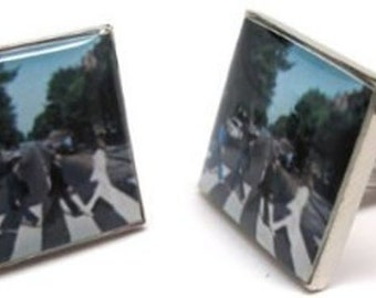 The Beatles Abbey Road Cufflinks Cuff Links Music Rock and Roll