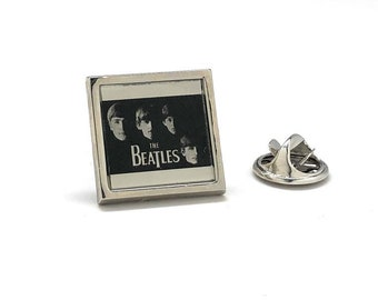 Enamel Pin The Beatles early days artwork Lapel Pin Hard Enamel Pins Band Fans Lapel Pin Music Players famous art work