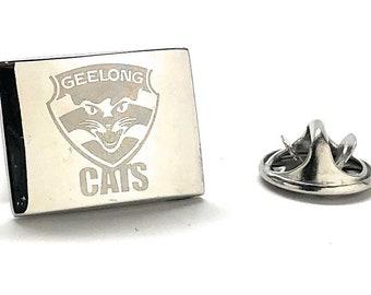 Enamel Pin Geelong Cats Football Club The Cats Australian Football League Lapel Pin Tie Tack Australia