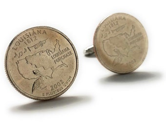 Painted Coins Cufflinks