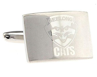 Geelong Cats Football Club Cufflinks The Cats Australian Football League Cuff Links Australia