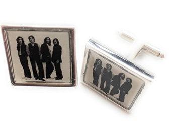 The Beatles Cufflinks Beatles Photo Shot '69 Cuff Links Players famous art work