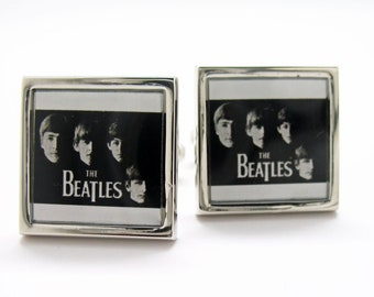 The Beatles The Fab Four Cufflinks Cuff Links John George Paul and Ringo