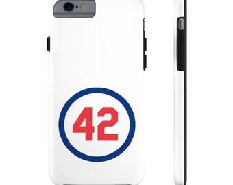 Case Mate Tough Phone Cases Number Forty Two Honoring Baseball's Barrier Breaker baseball gift Boyfriend Gift Gift for dad Gift for Boss