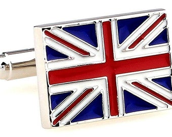 British Flag UK United Kingdom Cufflinks Cuff Links