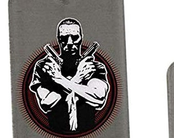 Dog Tag Marvel Comics The Punisher Vigilante Fighting Armed Guns Dog Tag Pendant with Chain Necklace vintage jewelry