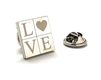Love Enamel Pin, All You Need is Love Lapel Pin