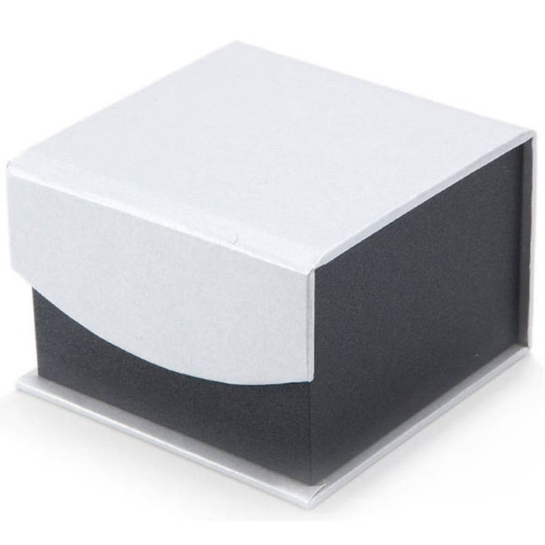 Matt Silver Twist Cufflinks Classic Shiny Design Power Force Business Classic Gentlemen Cuff Links Comes with Gift Box