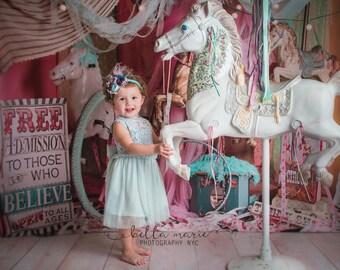 Light blue, tiffany blue, toddler & girls lace tulle tutu dress with rhinestone sash