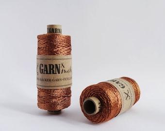 1 spool baker's twine gift ribbon cord thread in copper 45m