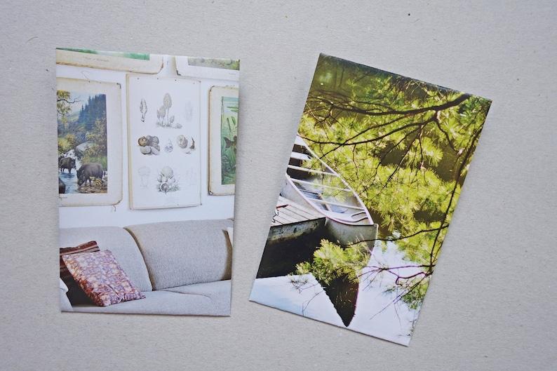 set 10 paper bags gift bags envelopes cat flowers