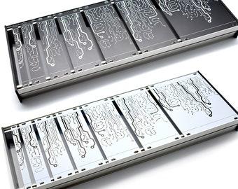 Eurorack Blind Panels, 3U, Complete Set, 7 sizes in one package, 20HP Panel Gratis!