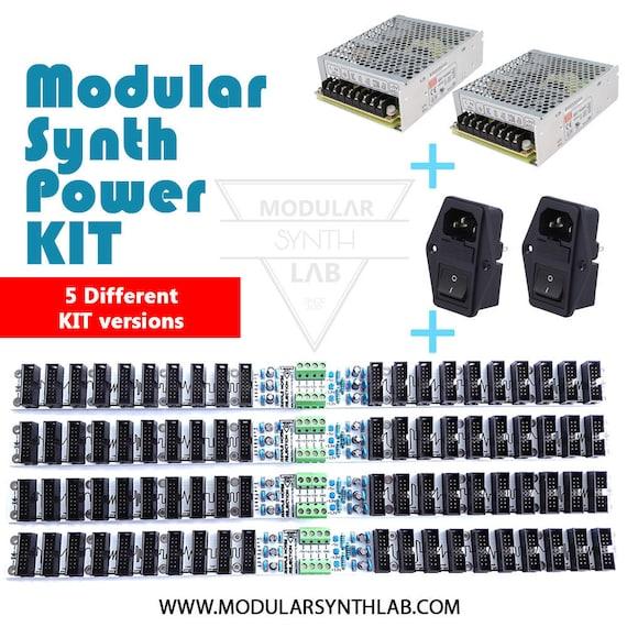 Eurorack Power Kit Modular Synth Power Kit DIY Synth Case Power Kit  Synthesizer Power Set Complete Synth Case Power Kit